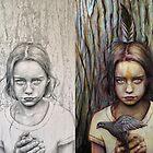 Kierra: Pencil to Paint by Michael  Shapcott