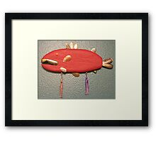 Key Chain Fish #2 (SOLD) Framed Print