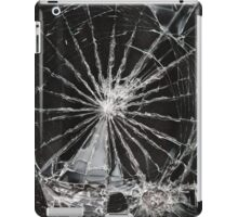 cracked screen iPad Case/Skin