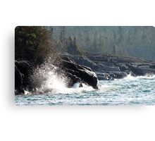 Hattie Cove - Pukaskwa National Park - Heron Bay, Ontario Canada Canvas Print