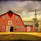 Red Heritage Barn by Teresa Zieba