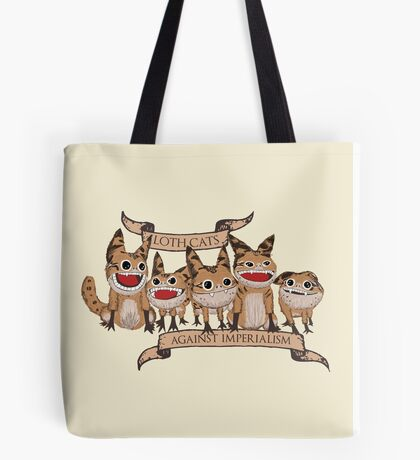 Loth Cats Against Imperialism Tote Bag