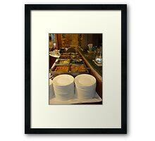 Beautiful Buffet Framed Print