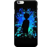 hunter x hunter killua paint splatter anime manga shirt iPhone Case/Skin