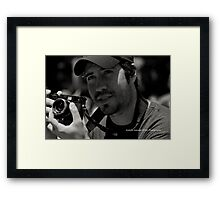 The Candid Street Photographer Pt 2 Framed Print