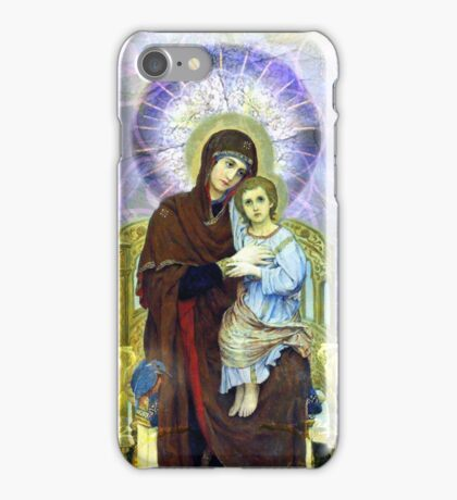 Madonna of the Kaleidoscope iPhone case iPhone Case/Skin