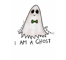 Boo! I'm a Ghost Photographic Print