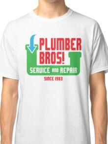 PLUMBER BROS! Classic T-Shirt