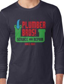 PLUMBER BROS! Long Sleeve T-Shirt
