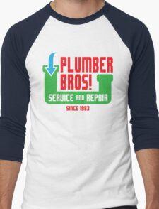 PLUMBER BROS! Men's Baseball ¾ T-Shirt