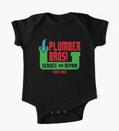 PLUMBER BROS! Kids Clothes