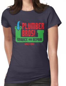 PLUMBER BROS! Womens Fitted T-Shirt
