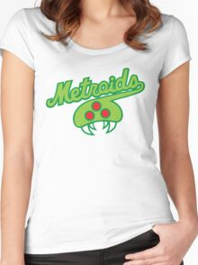 THE METROIDS Women's Fitted Scoop T-Shirt