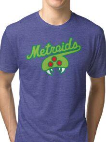 THE METROIDS Tri-blend T-Shirt