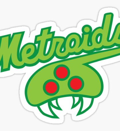 THE METROIDS Sticker