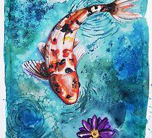 Koi Pond by Sydney Zmitrewicz