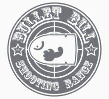 BULLET BILL SHOOTING RANGE Kids Tee