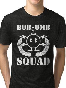 BOB-OMB SQUAD Tri-blend T-Shirt