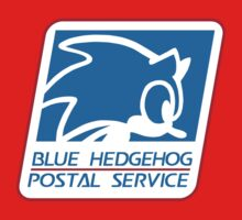 BLUE HEDGEHOG POSTAL SERVICE Kids Clothes