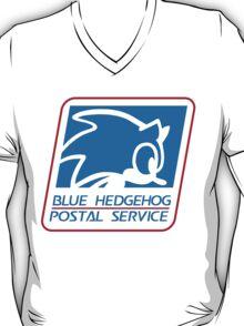 BLUE HEDGEHOG POSTAL SERVICE T-Shirt