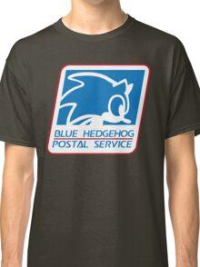 BLUE HEDGEHOG POSTAL SERVICE Classic T-Shirt