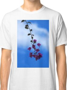 Purple Blossoms on a Tree Classic T-Shirt