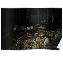 Inside Monets garden she struggled to sleep Poster