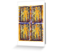 Four Women in ONE Greeting Card
