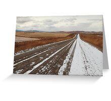 Dirt road Greeting Card