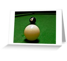 Behind the 8 Ball? Greeting Card