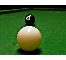 Behind the 8 Ball? Photographic Print