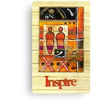 We INSPIRE One Another Canvas Print