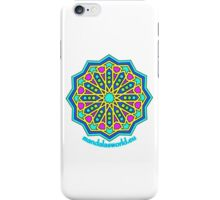Alhambra Mandala 1a iPhone Case/Skin
