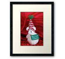 Christmas Bear Framed Print