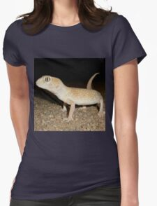 Large-headed Gecko - Namibia Womens Fitted T-Shirt