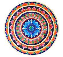 The Source Mandala Photographic Print