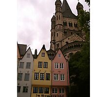 Colourful Cologne, Germany Photographic Print