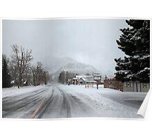 Snow storm Poster