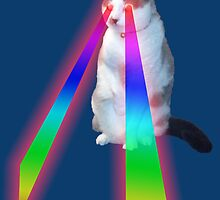 Lazer Kitteh by Mark Hayes