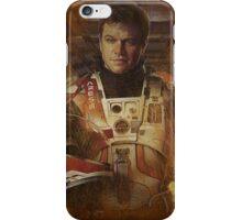 The Martian Matt Damon iPhone Case/Skin