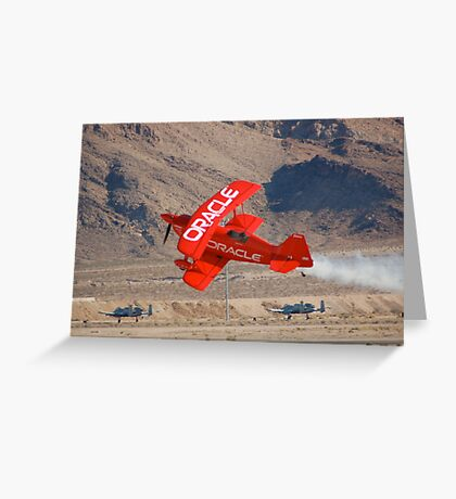 Oracle Challenger Greeting Card