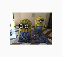 Canstruction, Sculpture Made of Food Cans, Minions, World Financial Center, New York City T-Shirt