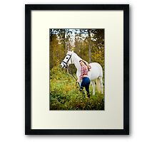 Tina and Abner-2 Framed Print
