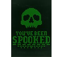You've Been Spooked Photographic Print