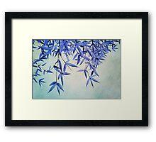 bamboo susurration  Framed Print