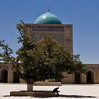 Mir-i-Arab Madrassa by Gillian Anderson LAPS, AFIAP