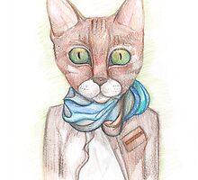 C1| Cat Art 1 by Anya Alexandrova