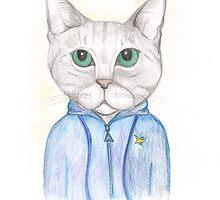 C3| Cat Art 3 by Anya Alexandrova
