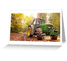 Autumnal wood 2 Greeting Card