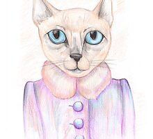 C5| Cat Art 5 by Anya Alexandrova